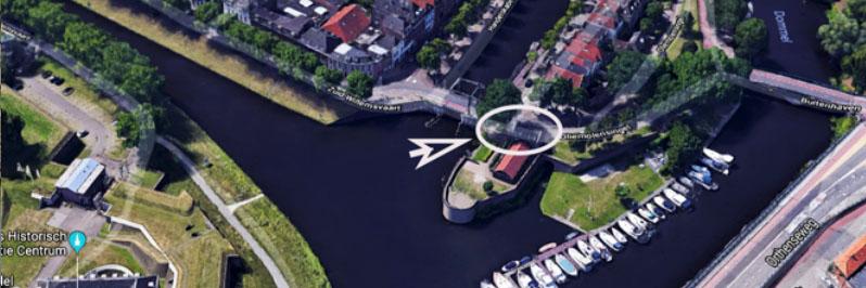 Baggeren haven Oliemolensingel 's-Hertogenbosch