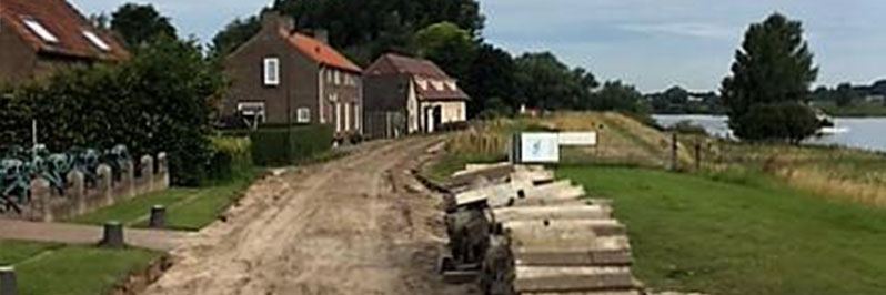Reconstructie Bokhovense Maasdijk 's-Hertogenbosch