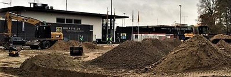 Aanleg parkeerterrein Hockeyclub 's-Hertogenbosch