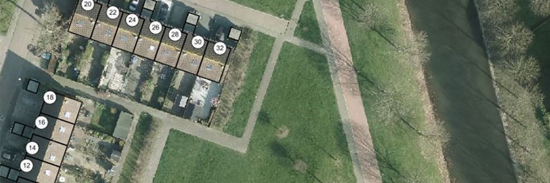 Bouw- en woonrijp maken Korianderhof Almere