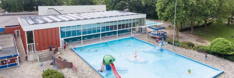 Herinrichting zwembad Kwekkelstijn Rosmalen