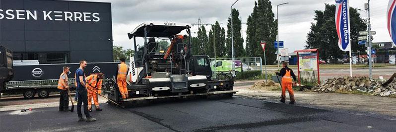 Reconstructie parkeerterrein Venlo